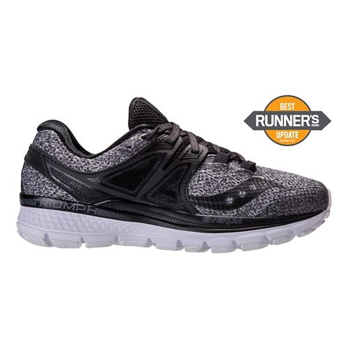 Womens Saucony Triumph ISO 3 Running Shoe - Marl 10