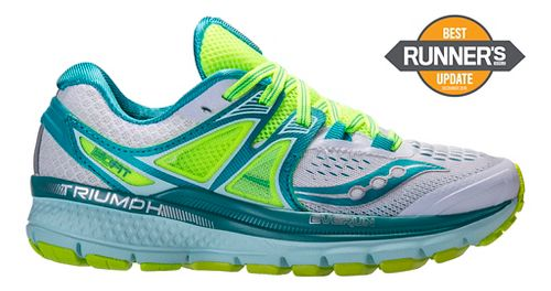 Womens Saucony Triumph ISO 3 Running Shoe - Purple/Blue 11