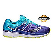 Womens Saucony Triumph ISO 3 Running Shoe - Purple/Blue 11