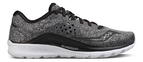 Mens Saucony Kinvara 8 Running Shoe - Marl/Black 12