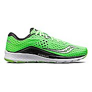 Mens Saucony Kinvara 8 Running Shoe - Slime/Black 10.5