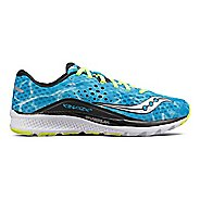 Mens Saucony Kinvara 8 Running Shoe - Ocean Wave 9