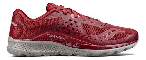 Mens Saucony Kinvara 8 Running Shoe - Burgundy 7