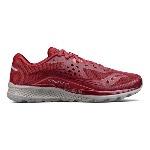Mens Saucony Kinvara 8 Running Shoe - Burgundy 10.5
