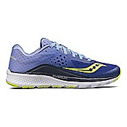 Womens Saucony Kinvara 8 Running Shoe - Navy/Purple 6.5