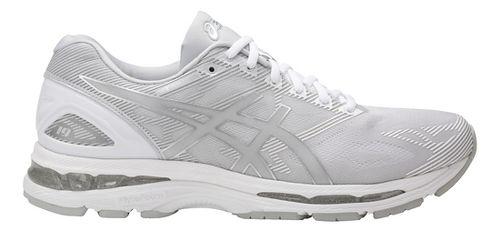 Mens ASICS GEL-Nimbus 19 Running Shoe - Black/Grey 15