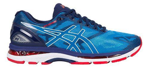 Mens ASICS GEL-Nimbus 19 Running Shoe - Blue/White 12