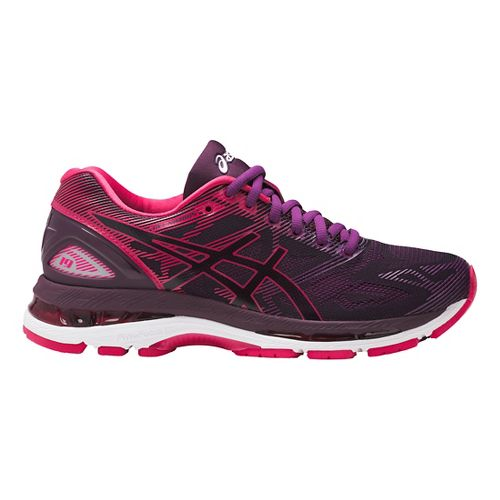 Womens ASICS GEL-Nimbus 19 Running Shoe - Pink/Purple 10