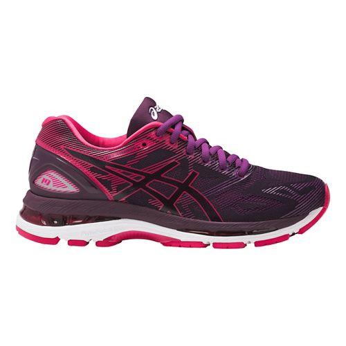 Womens ASICS GEL-Nimbus 19 Running Shoe - Pink/Purple 12