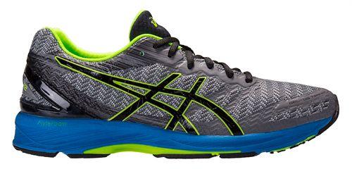 Mens ASICS GEL-DS Trainer 22 Running Shoe - Grey/Blue 9