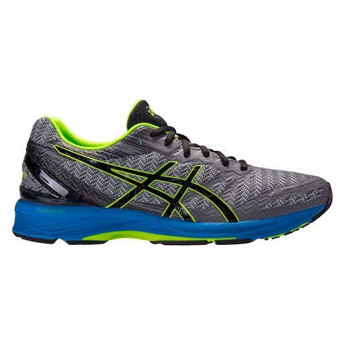 Mens ASICS GEL-DS Trainer 22 Running Shoe - Grey/Blue 14