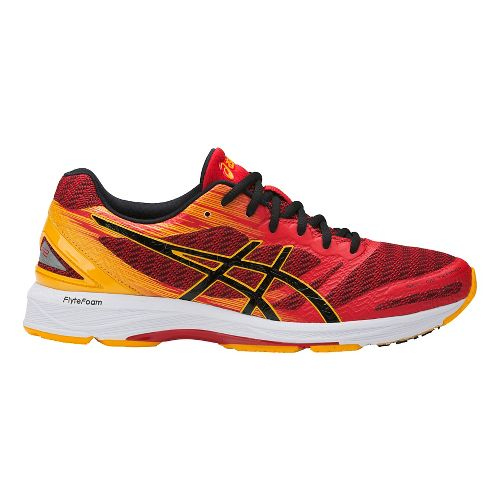 Mens ASICS GEL-DS Trainer 22 Running Shoe - Red/Gold 12