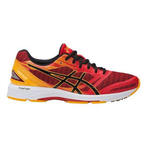Mens ASICS GEL-DS Trainer 22 Running Shoe - Red/Gold 9