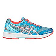 Womens ASICS GEL-DS Trainer 22 Running Shoe - Aqua/Coral 6.5