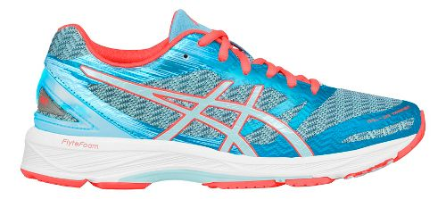 Womens ASICS GEL-DS Trainer 22 Running Shoe - Aqua/Coral 10