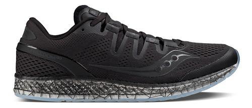 Mens Saucony Freedom ISO Running Shoe - Black 10.5