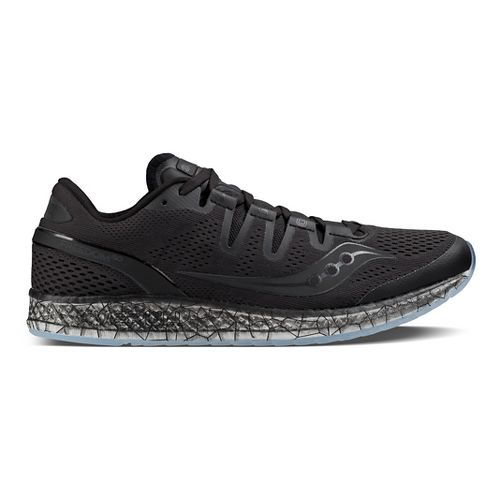 Mens Saucony Freedom ISO Running Shoe - Black 10.5