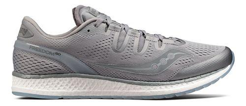 Mens Saucony Freedom ISO Running Shoe - Grey 6.5