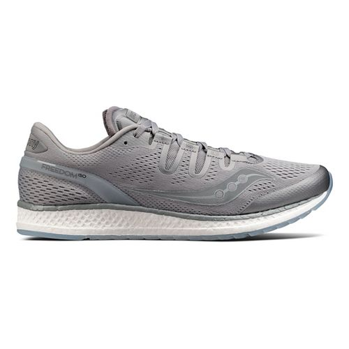 Mens Saucony Freedom ISO Running Shoe - Grey 11.5