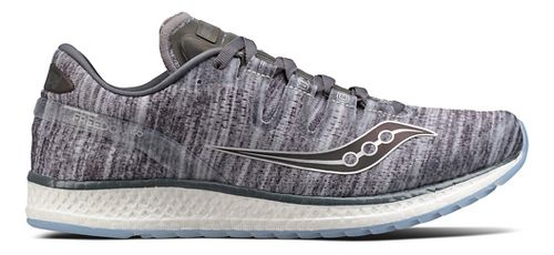 Mens Saucony Freedom ISO Running Shoe - Grey/Grey 9