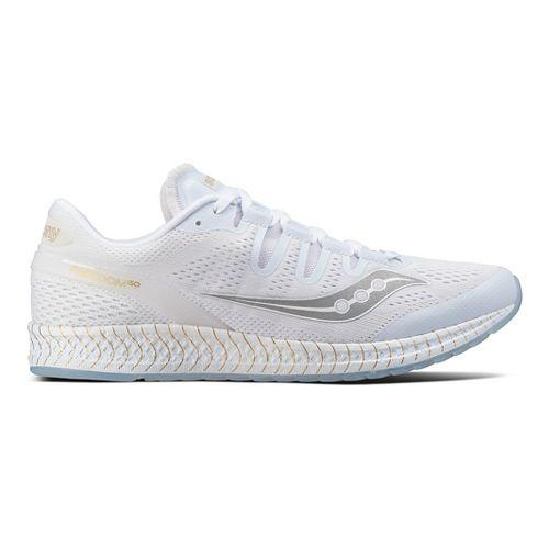 Mens Saucony Freedom ISO Running Shoe - White 11.5