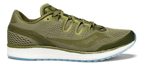 Mens Saucony Freedom ISO Running Shoe - Olive 12.5