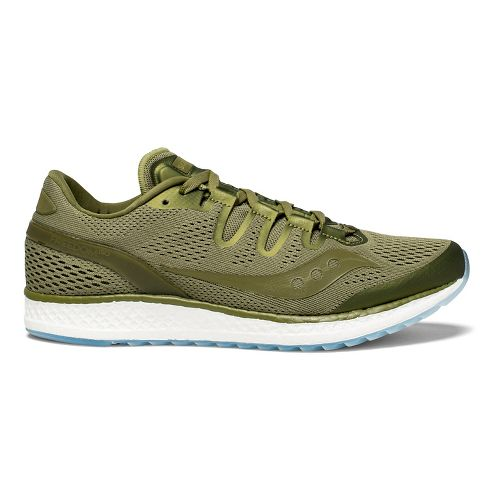 Mens Saucony Freedom ISO Running Shoe - Olive 10