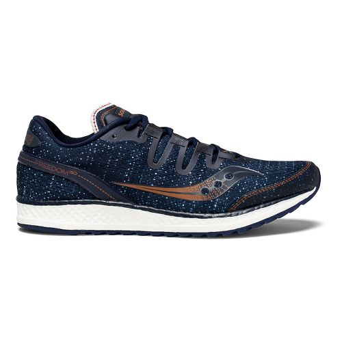 Mens Saucony Freedom ISO Running Shoe - Navy Denim 8.5