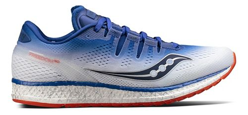 Mens Saucony Freedom ISO Running Shoe - Blue 10.5