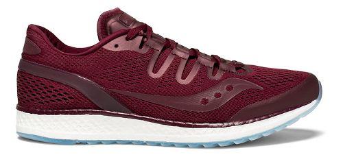 Mens Saucony Freedom ISO Running Shoe - Burgundy 8.5