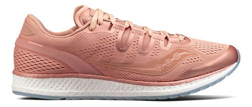 Mens Saucony Freedom ISO Running Shoe - Salmon 3.5