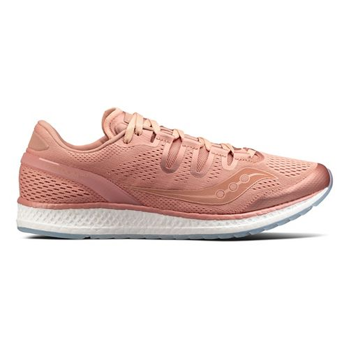 Mens Saucony Freedom ISO Running Shoe - Salmon 4