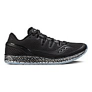 Womens Saucony Freedom ISO Running Shoe - Black 7.5