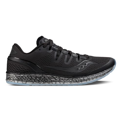 Womens Saucony Freedom ISO Running Shoe - Black 8.5