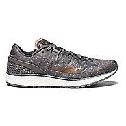 Womens Saucony Freedom ISO Running Shoe - Grey Denim 5