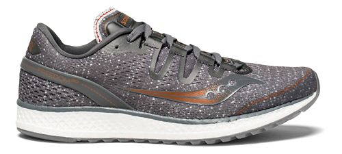 Womens Saucony Freedom ISO Running Shoe - Grey Denim 10