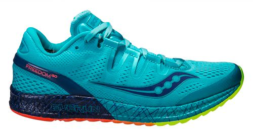 Womens Saucony Freedom ISO Running Shoe - Blue 9.5