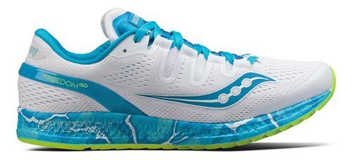 Womens Saucony Freedom ISO Running Shoe - Ocean Wave 7.5
