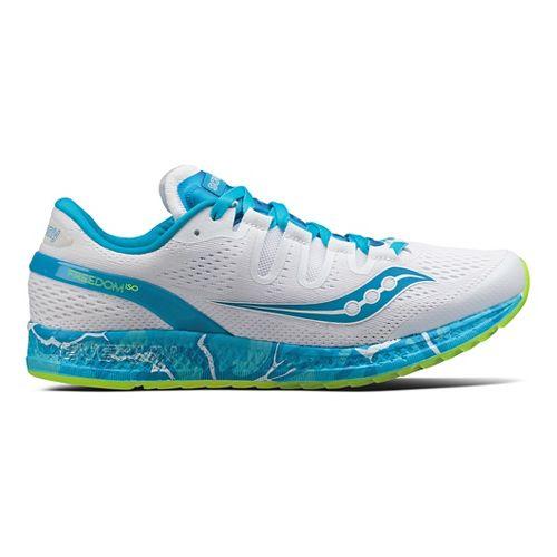 Womens Saucony Freedom ISO Running Shoe - Ocean Wave 10.5