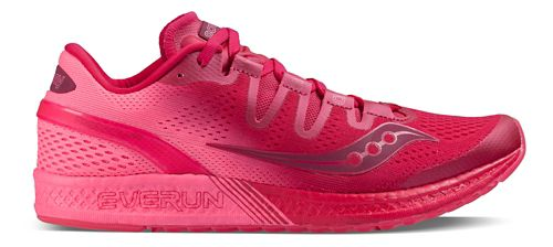 Womens Saucony Freedom ISO Running Shoe - Berry Pink 9