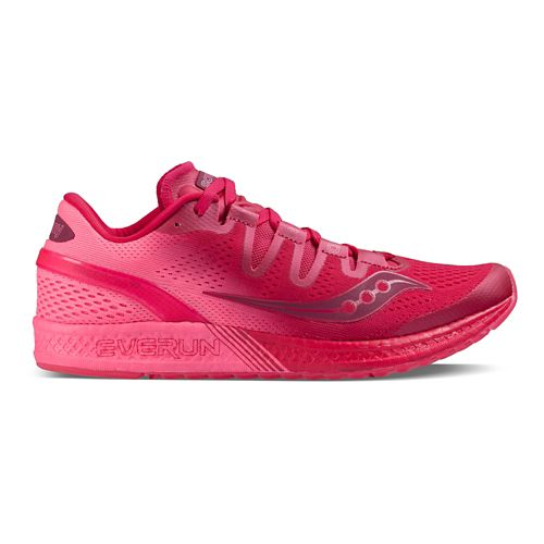 Womens Saucony Freedom ISO Running Shoe - Berry Pink 10