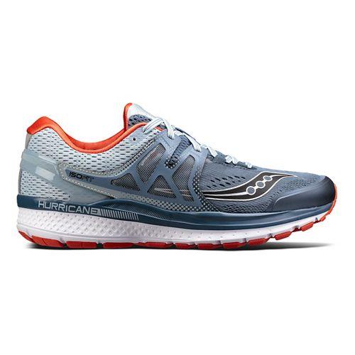 Mens Saucony Hurricane ISO 3 Running Shoe - Blue 8