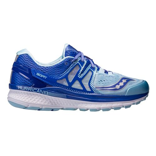 Womens Saucony Hurricane ISO 3 Running Shoe - Blue 5