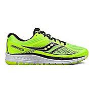 Mens Saucony Guide 10 Running Shoe - Lime/Black/Citron 9