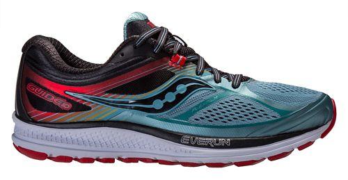 Mens Saucony Guide 10 Running Shoe - Blue/Black 13