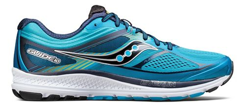 Mens Saucony Guide 10 Running Shoe - Blue/Navy 10