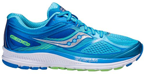 Womens Saucony Guide 10 Running Shoe - Blue 8.5