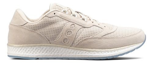 Mens Saucony Freedom Runner Suede Casual Shoe - Tan 7.5