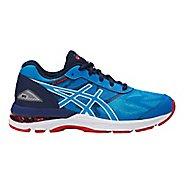 Kids ASICS GEL-Nimbus 19 Running Shoe - Blue/White 4.5Y