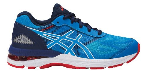 Kids ASICS GEL-Nimbus 19 Running Shoe - Blue/White 2.5Y